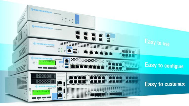Firewall-Appliances von Rohde & Schwarz Cybersecurity
