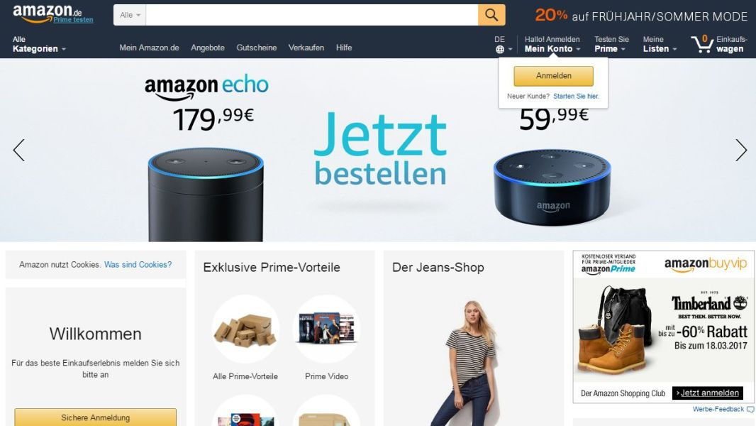 Top 10 Online-Shops in Deutschland