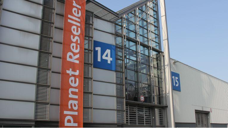 Der CeBIT-Fachhandelsbereich ''Planet Reseller'' ist in den Doppelhallen 14 und 15 angesiedelt.