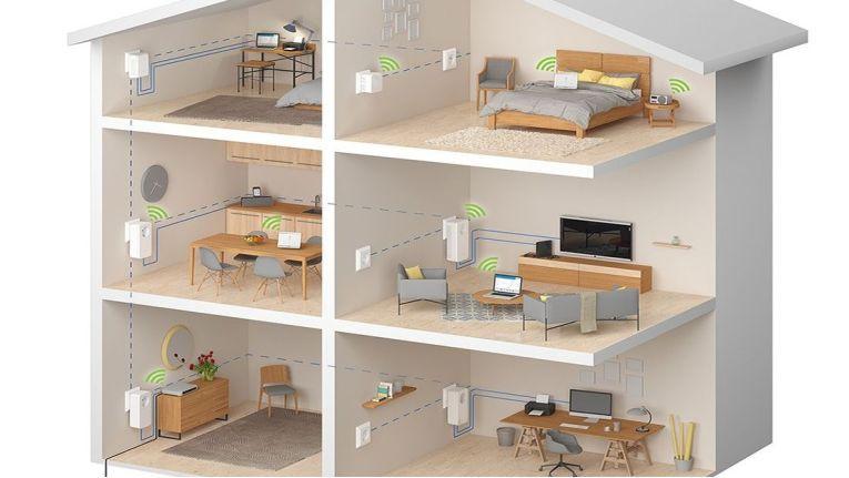 Es ist gar nicht so einfach, ein ganzes Haus optimal mit WLAN auszulechten. Hier sollte man auf die Hilfe von Experten setzen.