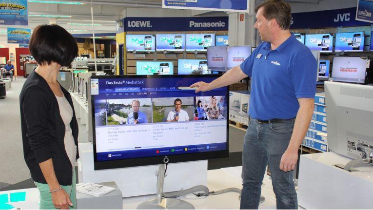 Als beratungsstarker Fachhandelsverbund hofft Euronics von der Umstellung auf DVB-T2 zu profitieren.