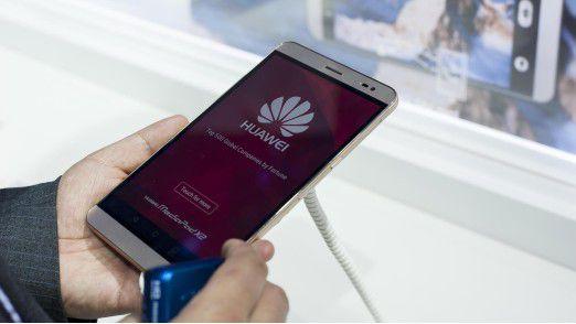Chinesische Smartphone-Anbieter wie Huawei (Foto) erobern immer höhere Marktanteile hinter den beiden Branchenführern Samsung und Apple.