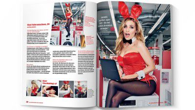 Osteraktionen von Media Markt: Playboy-Bunnies im Media Markt und gratis Lieferservice - Foto: Media-Saturn