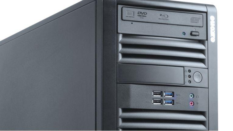 Die Exone Workstation 4204 empfiehlt sich mit Intel Core i7-Prozessoren der siebten Generation, leistungsfähigen Nvidia Quadro Pascal-Grafikkarten und optimal abgestimmte Systemkomponenten für anspruchsvolle Rechenaufgaben.
