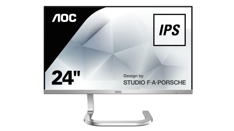Der AOC PDS241 wurde in Zusammenarbeit mit dem Designstudio F.A. Porsche gestaltet.