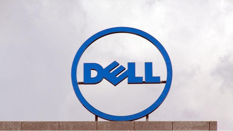 Hohe Abschreibungen drückten Dell im ersten Geschäftsquartal in die roten Zahlen.