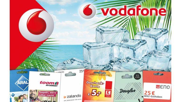 Vodafone-Verkäufer bei ENO können in den heißen Sommermonaten wieder auf coole Preise hoffen, indem sie virtuelle Eiswürfel für abgeschlossene Verträge sammeln.