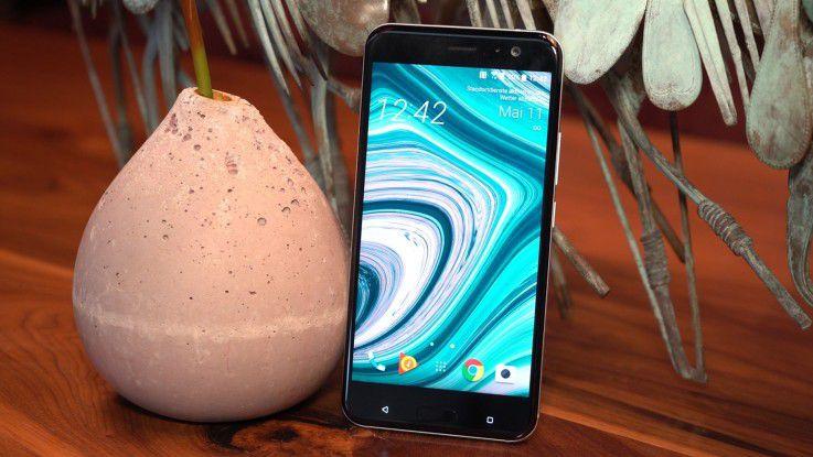 Bekommt Verstärkung: HTC U11 mit Edge Sense