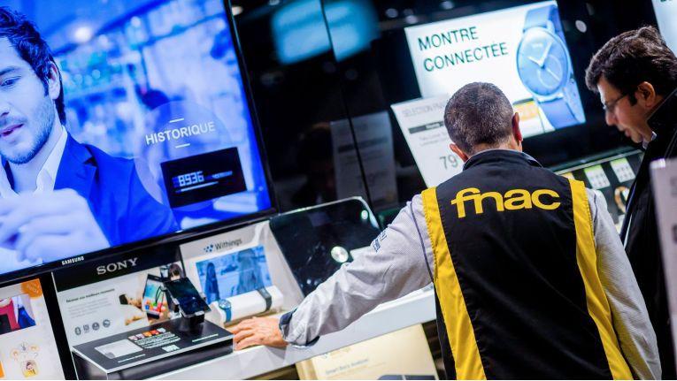 In Frankreich sind die Fnac-Geschäfte eine Institution für Elektronik- und Medienkäufer