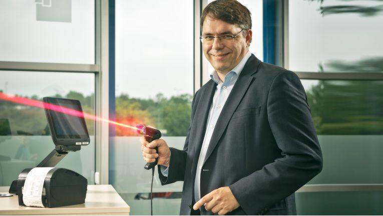 Etron-Geschäftsführer Markus Zoglauer hat deutsche Vertriebspartner fest im Visier.