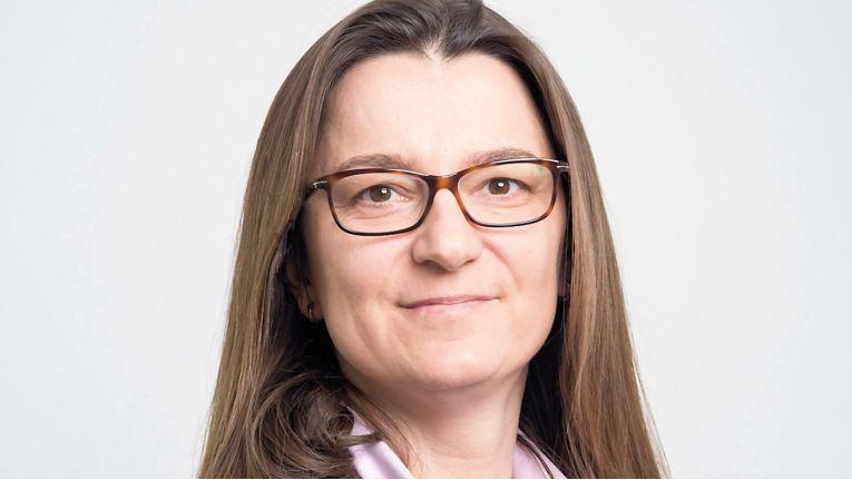 Die neue Gesamtvertriebsleiterin Nadine Daniel, ein Kern & Stelly-Urgestein, freut sich auf die neue Herausforderung