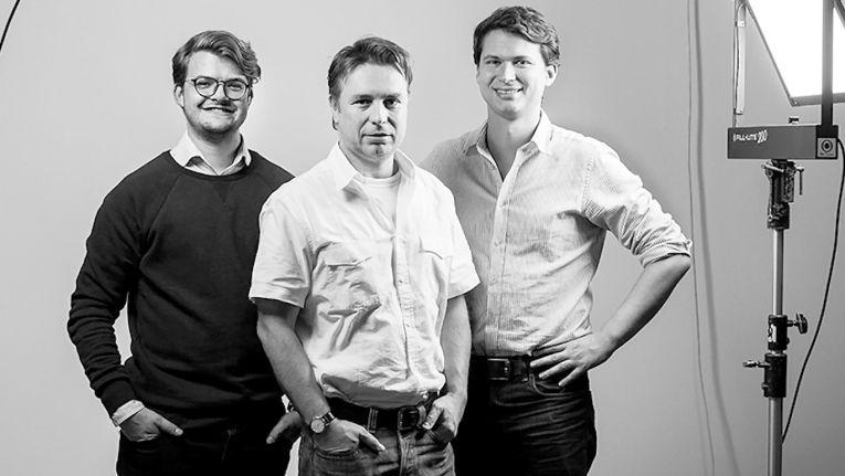 Die Vimcar-Gründer (von links: Christian Siewek, Lukas Weber und Andreas Schneider) haben für das Flotten-Management-Projekt ihres Unternehmens fünf Millionen Euro Investitionsgelder zur Frühphasenfinanzierung erhalten.
