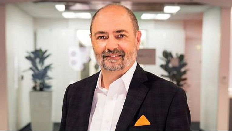 """Charlie Giancarlo, neuer CEO bei Pure Storage: """"Ich bin begeistert, Pure Storage zu einer so aufregenden Zeit in der Geschichte des Unternehmens beizutreten!""""."""