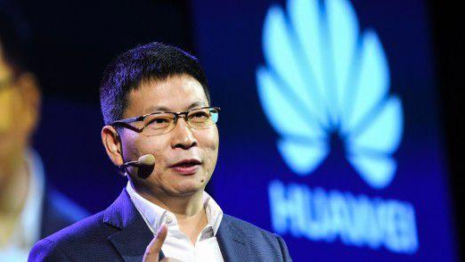 Richard Yu, Geschäftsführer Huawei Consumer Business Group, auf der IFA 2017.