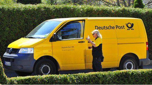 """Die Deutsche Post testet """"neue Zustelloptionen""""."""