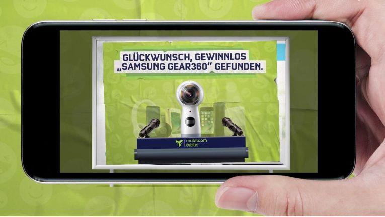 """Mobilcom-Debitel """"augmentiert"""" Wahlplakate und belohnt die Teilnehmer mit Gewinnen"""