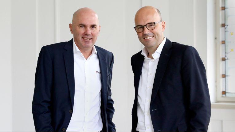 Präsentieren gemeinsamen neue Shop-Generation: ePages-CEO Wilfried Beeck und 1&1-Chef Robert Hoffmann