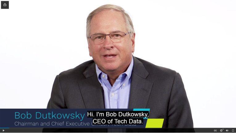 """Tech Data-CEO Bob Dutkowsky: """"Das ist ein neues Kapitel in der Geschichte unseres Unternehmens."""""""