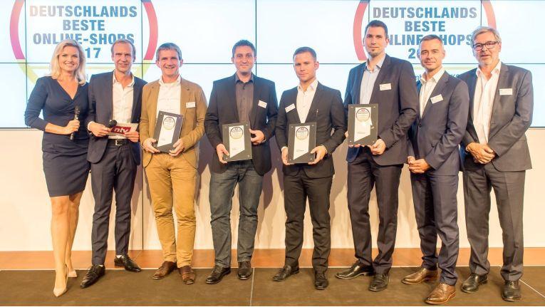 Preisverleihung in Berlin: Die besten Onlineshops von DISQ und n-tv