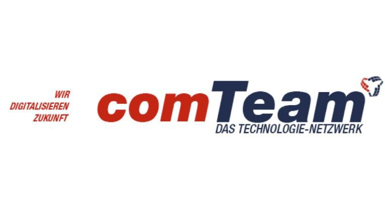 Das neue comTeam-Logo wurde bei der Systemhauskonferenz präsentiert