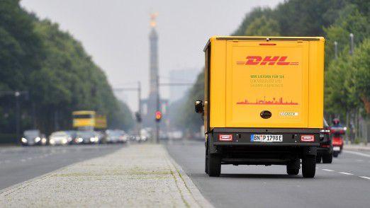 Mit der Zeit sollen die Zustellfahrzeuge der Deutschen Post komplett autonom fahren.