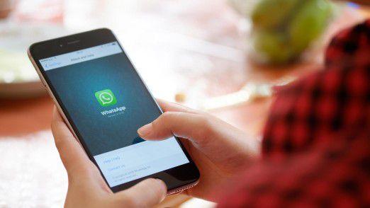 Problematisch: WhatsApp unterscheidet nicht zwischen privaten und beruflichen Kontaktdaten.