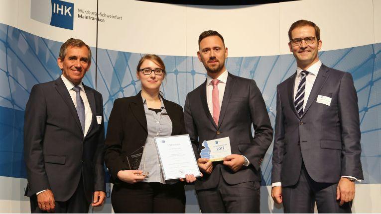Christiane Schleyer von Vintin ist die beste Fachinformatikerin des Jahres 2017 in der Region Mainfranken.