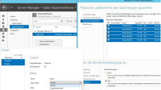 Windows Server 2012 R2: Speicher-Pools richtig einsetzen - Foto: Thomas Joos