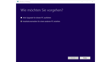 Windows 10 vom USB Stick installieren