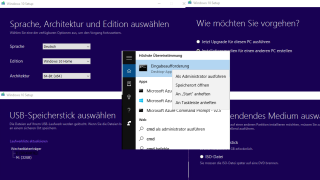Windows 10 ISO: Windows 10 vom USB Stick installieren