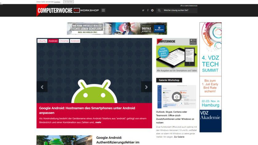 Modern, responsiv und voller nutzwertiger Inhalte: So präsentiert sich die neue TecChannel.de.