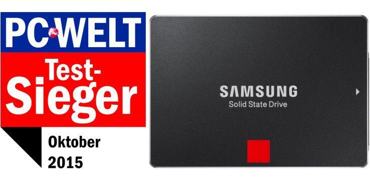 Testsieger: Samsung SSD 850 Pro 512GB