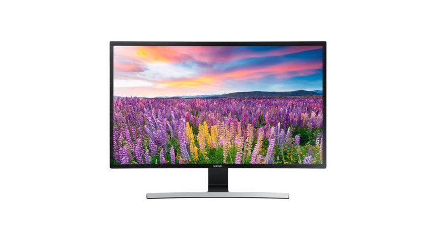 32-Zoll-Bildschirm Samsung S32E590C mit Curved-Display