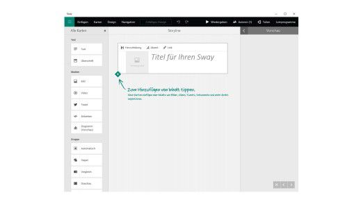 Microsoft bietet seinen neuen Online-Präsentationsdienst als Webdienst, aber auch als kostenlose App an