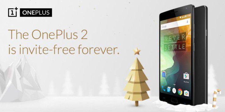 Ab 5.12. ohne Einladung erhältlich: OnePlus 2