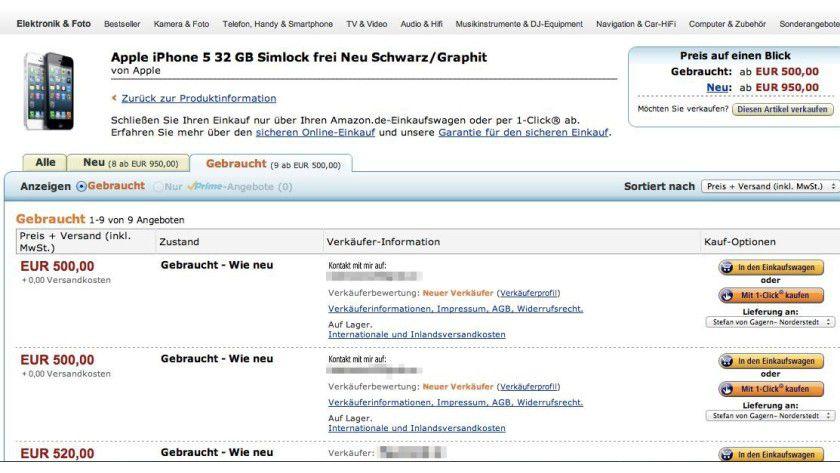 Bei neuen Verkäufern im Amazon Marketplace könnte es sich lohnen vor dem Verkauf Kontakt aufzunehmen.