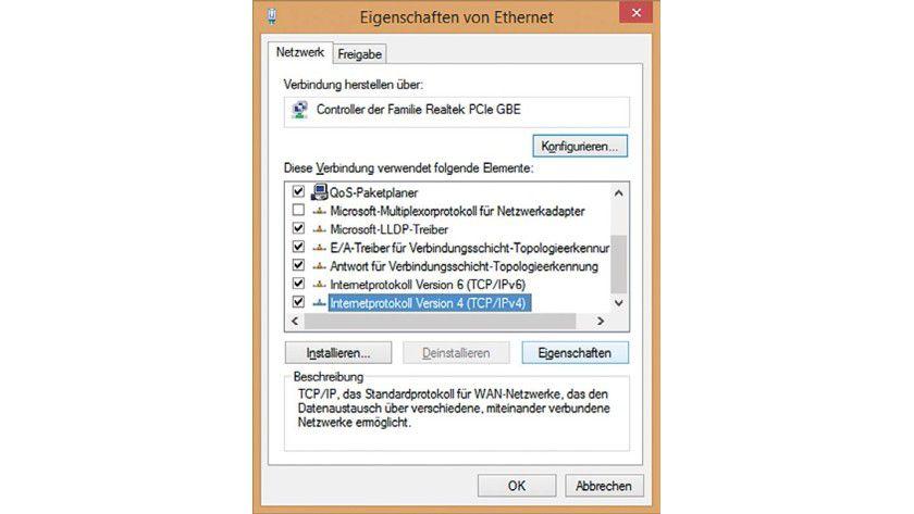 Wer keine FRITZ!Box hat muss dem Server die IP-Adresse manuell zuweisen.