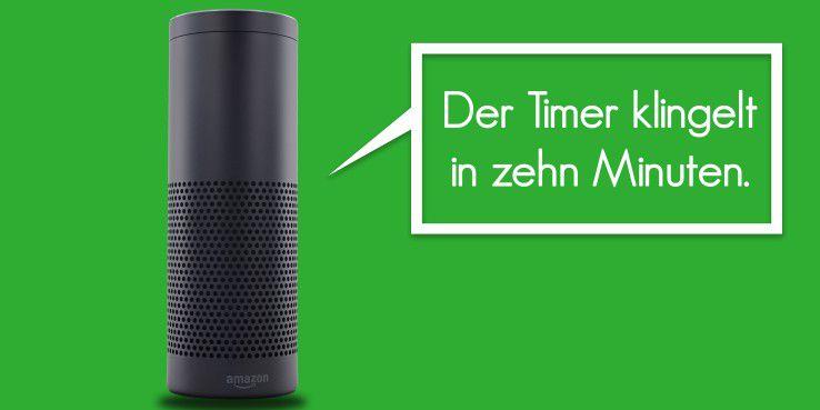 Möchte man einen Countdown haben, muss man Alexa einfach darum bitten.