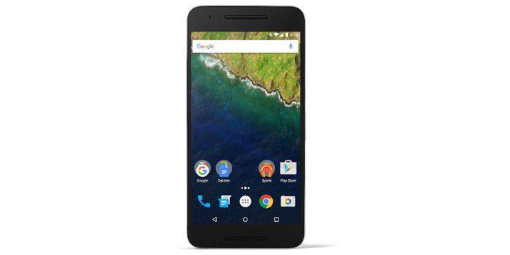 Das Display des Nexus 6P löst mit QHD sehr hoch auch, auch die Farben sind intensiv und der Blickwinkel ist weit.