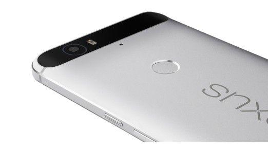 Huawei verpasst dem Google-Handy eine starke 12,4-Megapixel-Kamera.