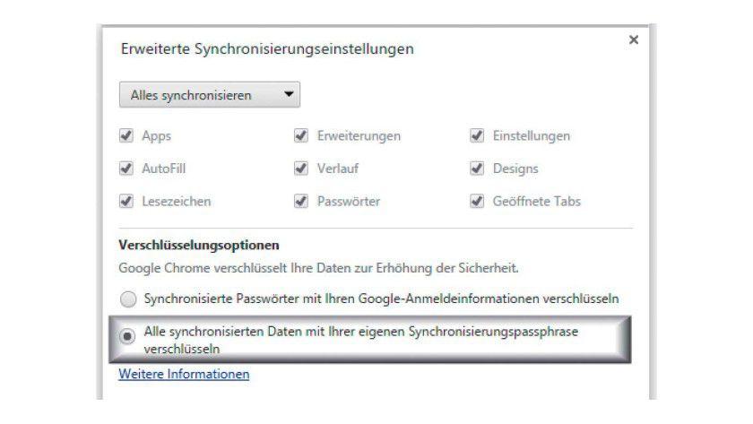 Chrome/Chromium so einstellen, dass Google nichts mehr zu lesen hat.