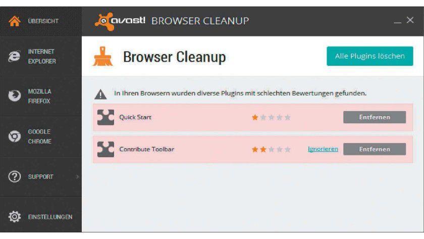 Die meist unerwünschten Browser-Plug-ins destabilisieren zwar meist nicht das System, führen aber oft zu unerwartetem Verhalten des Webbrowsers.