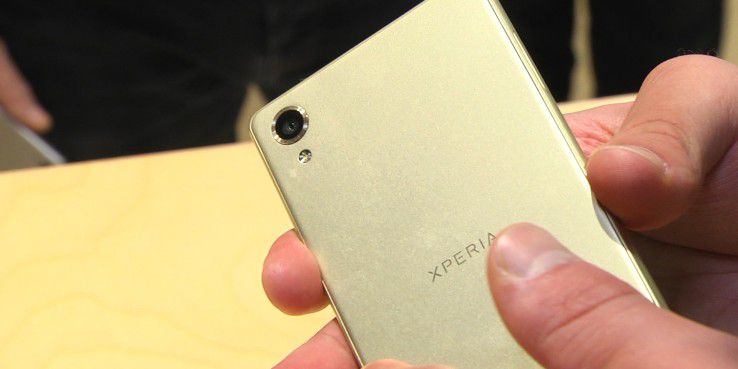 Sony integriert eine 23-Megapixel-Kamera