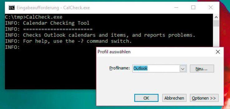 Das Calendar Checking Tool überprüft die Exchange-Kalender auf Probleme und Konflikte mit Berechtigungen und Terminen.