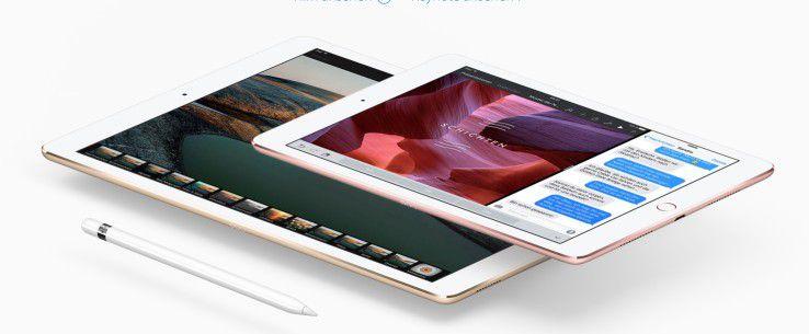 Das iPad Pro 9,7 und das iPad Pro 12,9