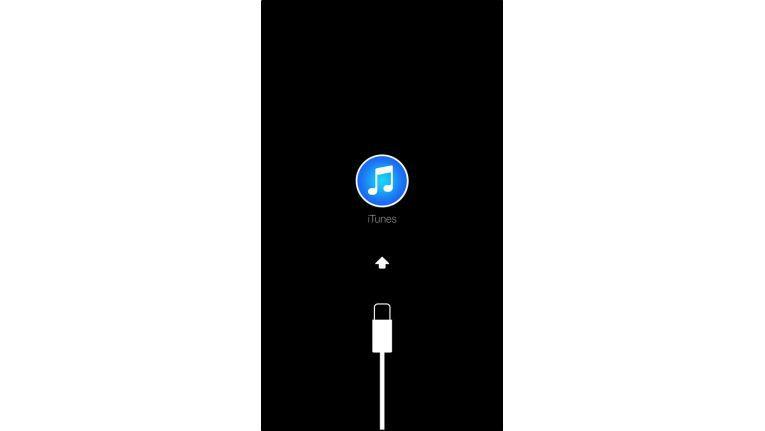 Das iPhone hängt im Wartungsmodus fest.