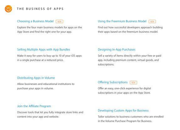 Apple will aufzeigen, wie man mit Apps immer noch Geld verdienen kann.