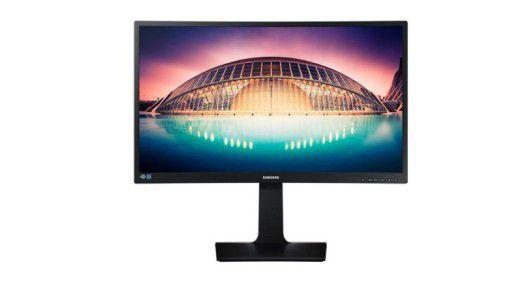 Der Samsung S27E650C besitzt einen gebogenen Bildschirm.