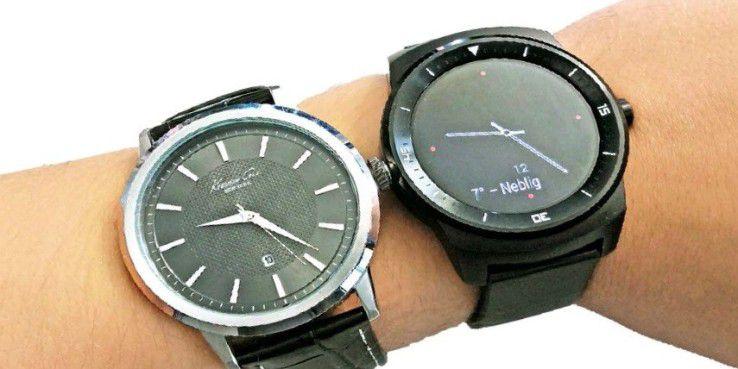 Auch die LG G Watch R bekommt Android Wear 2.0
