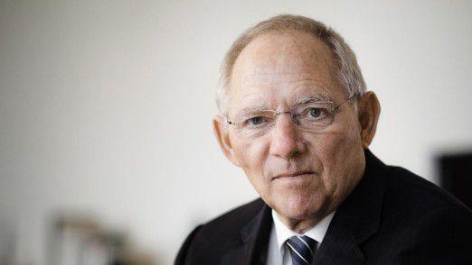 Der letzte Arbeitstag von Bundesfinanzminister Wolfgang Schäuble im Ministerium ist der 23. Oktober 2017.